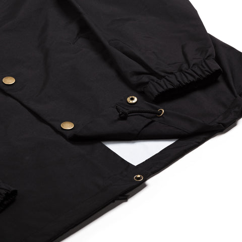 FATLACE COACH'S JACKET - BLACK