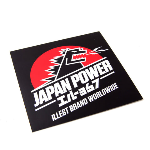 JAPAN POWER SQUARE STICKER