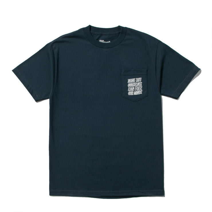 NONE BUT OURSELVES POCKET TEE