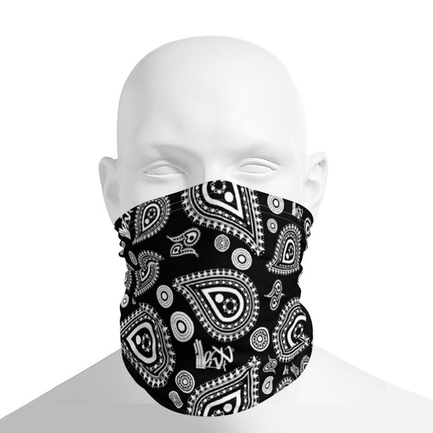 Neck Gaiter Bandana Black