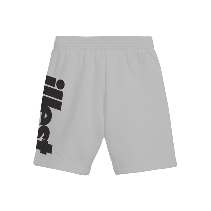 Men's Athletic Long Shorts - bold logo black