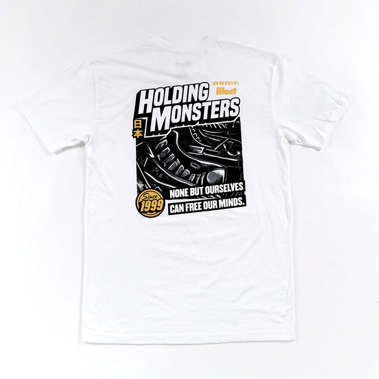 HOLDING MONSTERS TEE