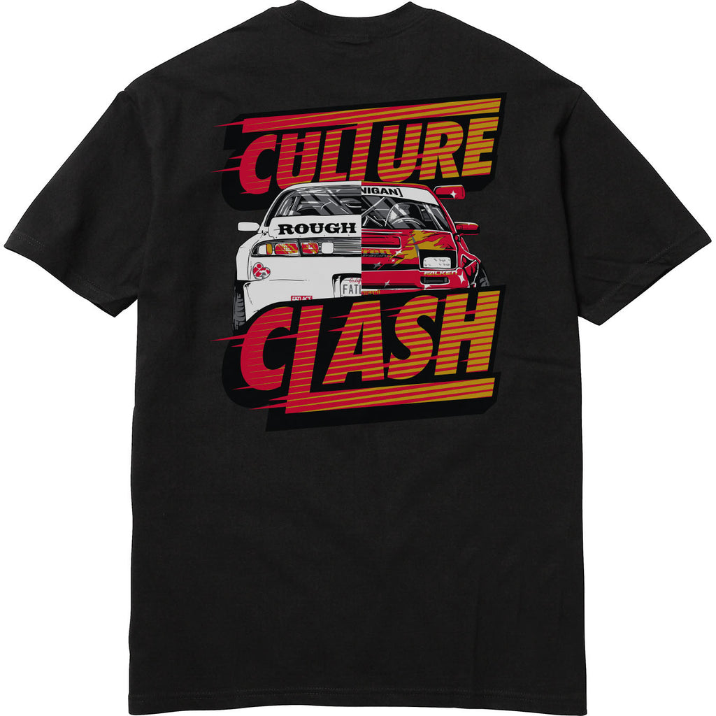 CULTURE CLASH VERSUS TEE - BLACK
