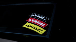 SUPERILL STICKER - BLACK