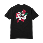 FREE MINDS TEE - BLACK