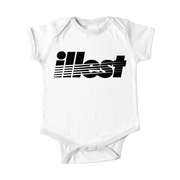 Infant - Illest One Piece Bold Strike Logo Black