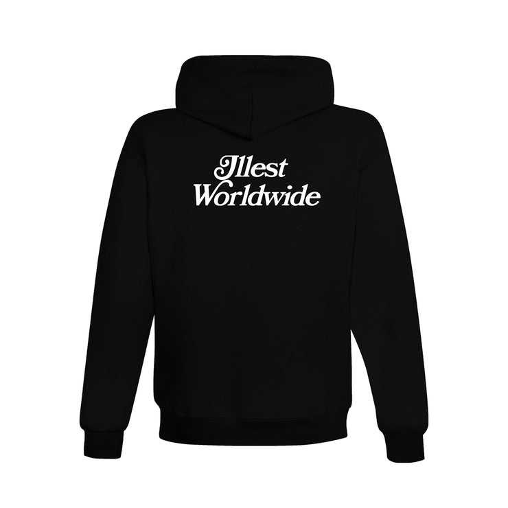 ILLEST X ASIANS NEVER DIE GRAPHIC HOODIE