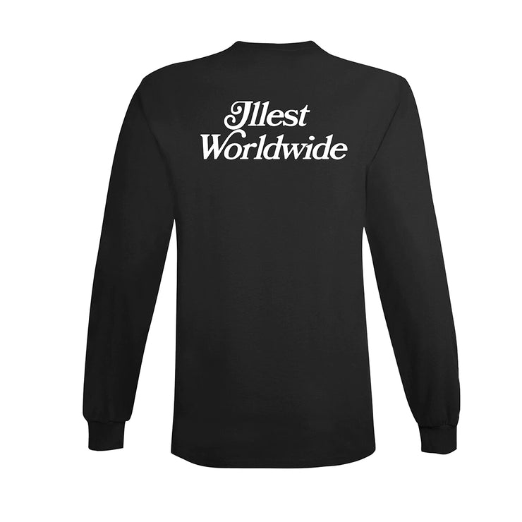 ILLEST X ASIANS NEVER DIE GRAPHIC LONGSLEEVE