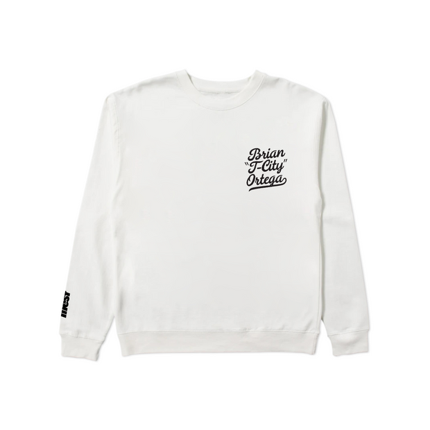 T-CITY CREWNECK SWEATSHIRT