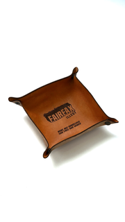 FAIRFAX LEATHER TRAY