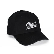 ILLEST BADGE DAD CAP - BLACK