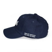 ILLEST BADGE DAD CAP - NAVY