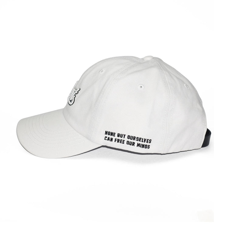 ILLEST BADGE DAD CAP - WHITE