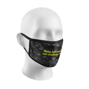 *ILLEST DOUBLE LAYER PROTECTIVE FACE MASK WITH FILTER POCKET (FILTER NOT INCLUDED)