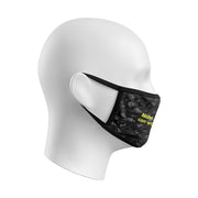 BLACK ILLEST DOUBLE LAYER PROTECTIVE FACE MASK WITH FILTER POCKET (FILTER NOT INCLUDED)