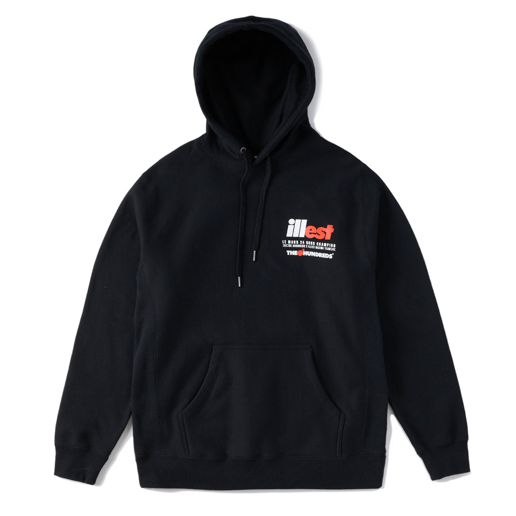 ILLEST x THE HUNDREDS HOODIE BLACK