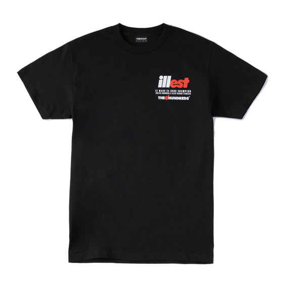 ILLEST x THE HUNDREDS TEE BLACK