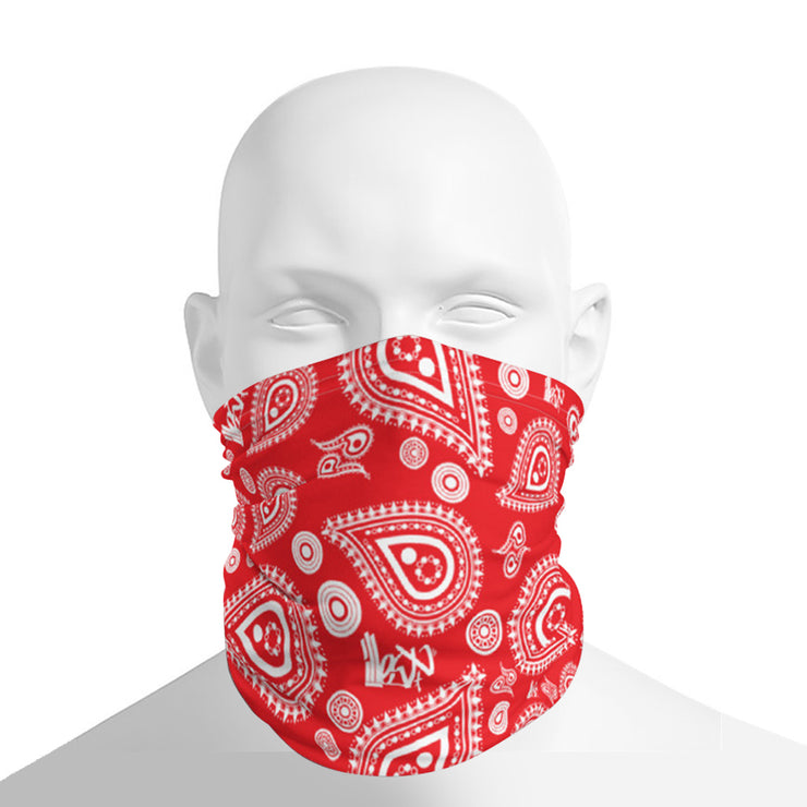 Neck Gaiter - Bandana Red