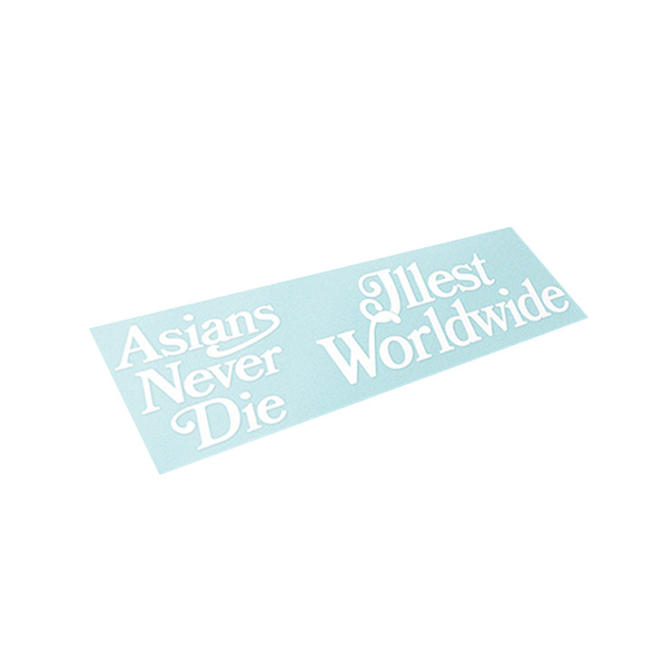 ILLEST X ASIANS NEVER DIE COLLAB STICKER