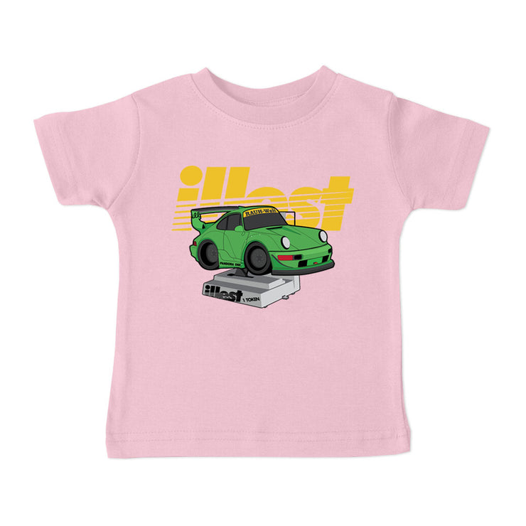 Toddler Short Sleeve Tee - Quarter Machine
