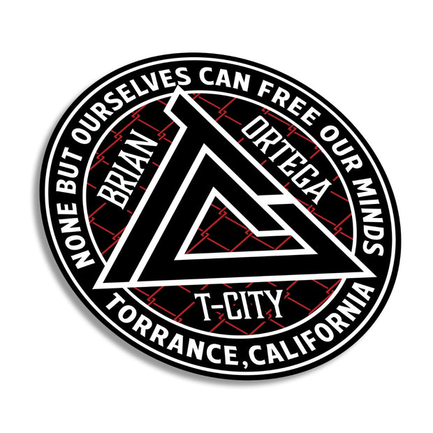 T-CITY BADGE STICKER