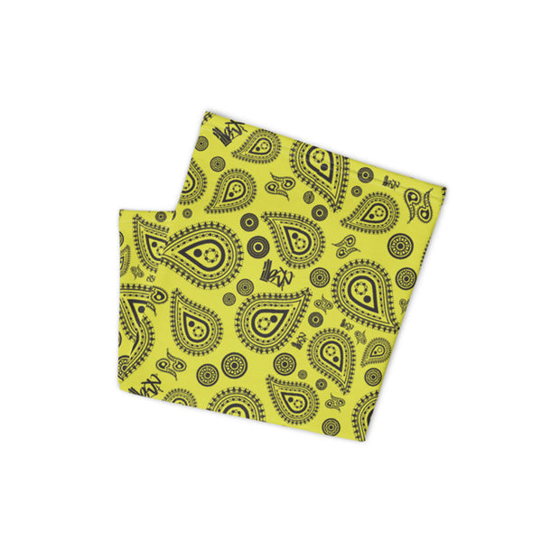 Neck Gaiter - Bandana Yellow