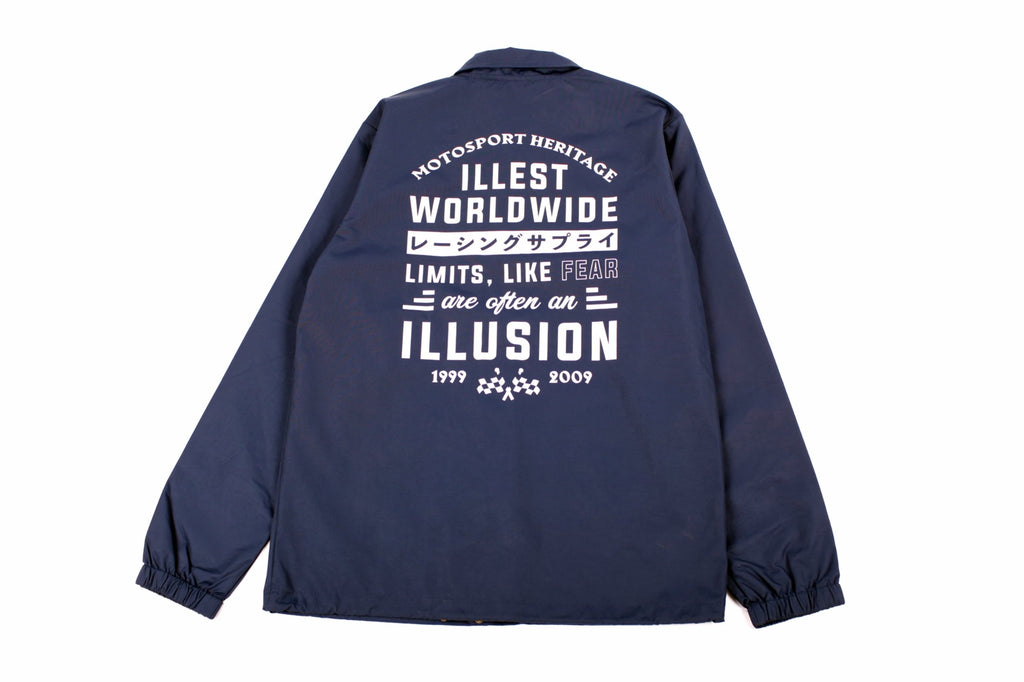 ILLEST TEMPLE COACH JACKET