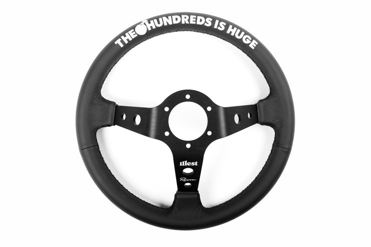 ILLEST  x THE HUNDREDS RACING STEERING WHEEL
