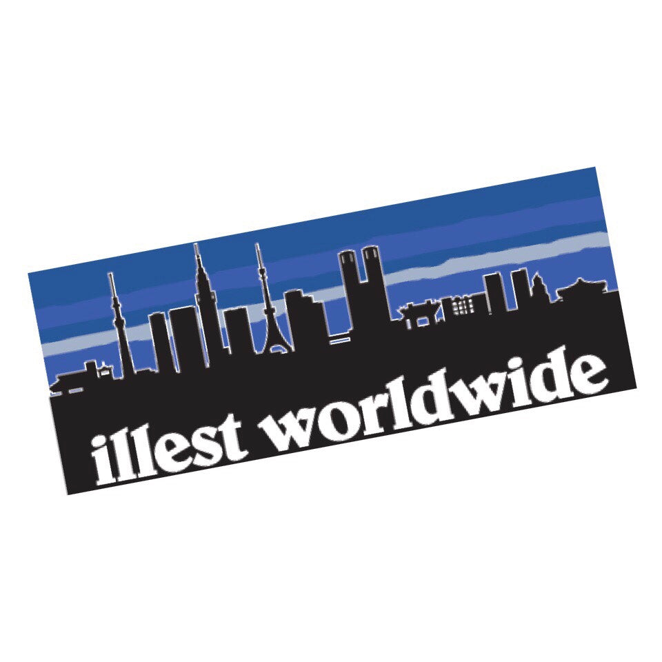 ILLEST WORLDWIDE BUMPER STICKER