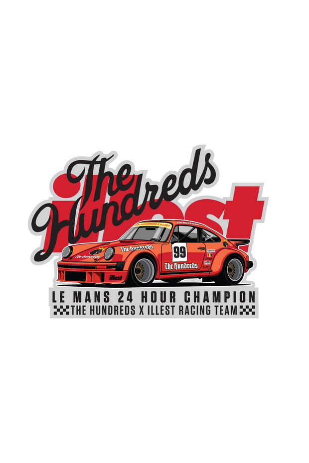 Illest x The Hundreds Decal