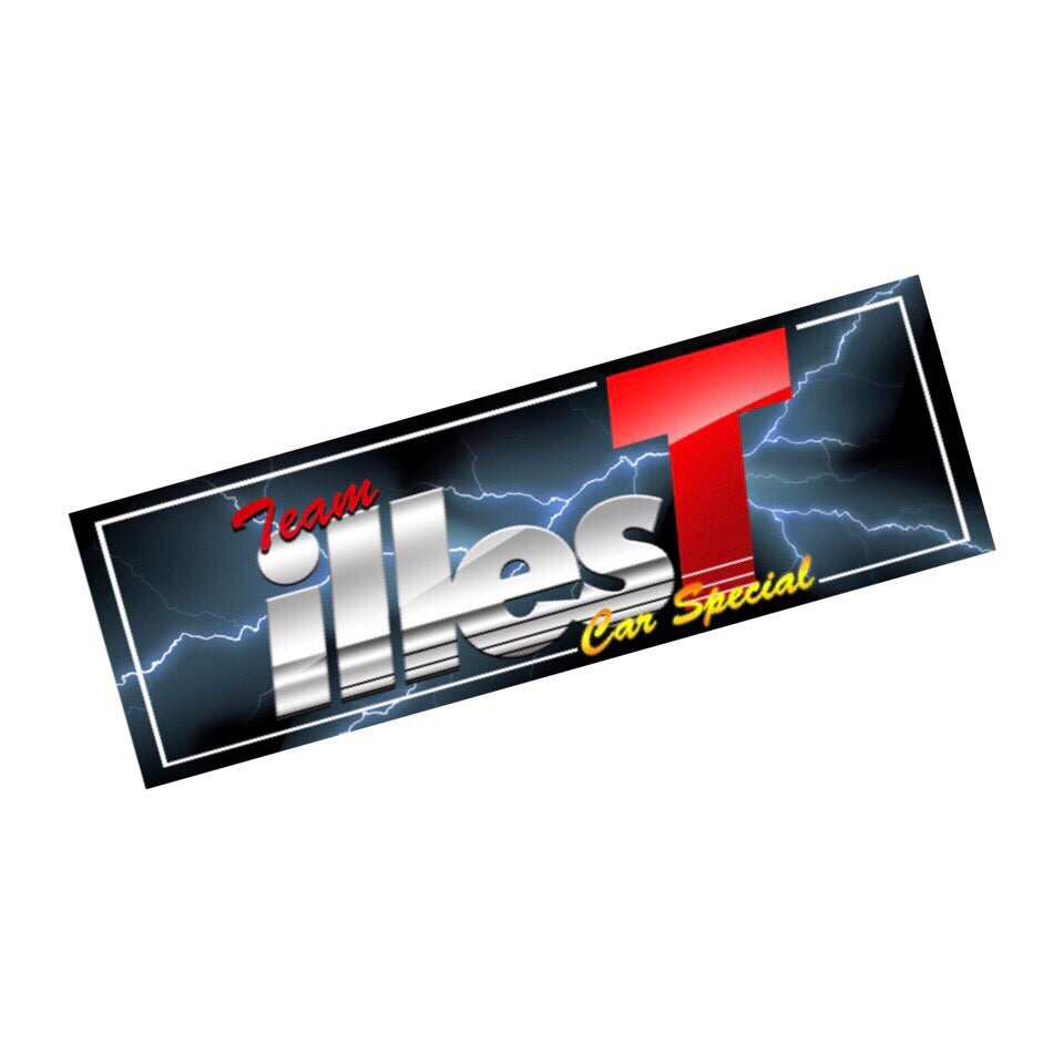 ILLEST CAR SPECIAL BUMPER STICKER