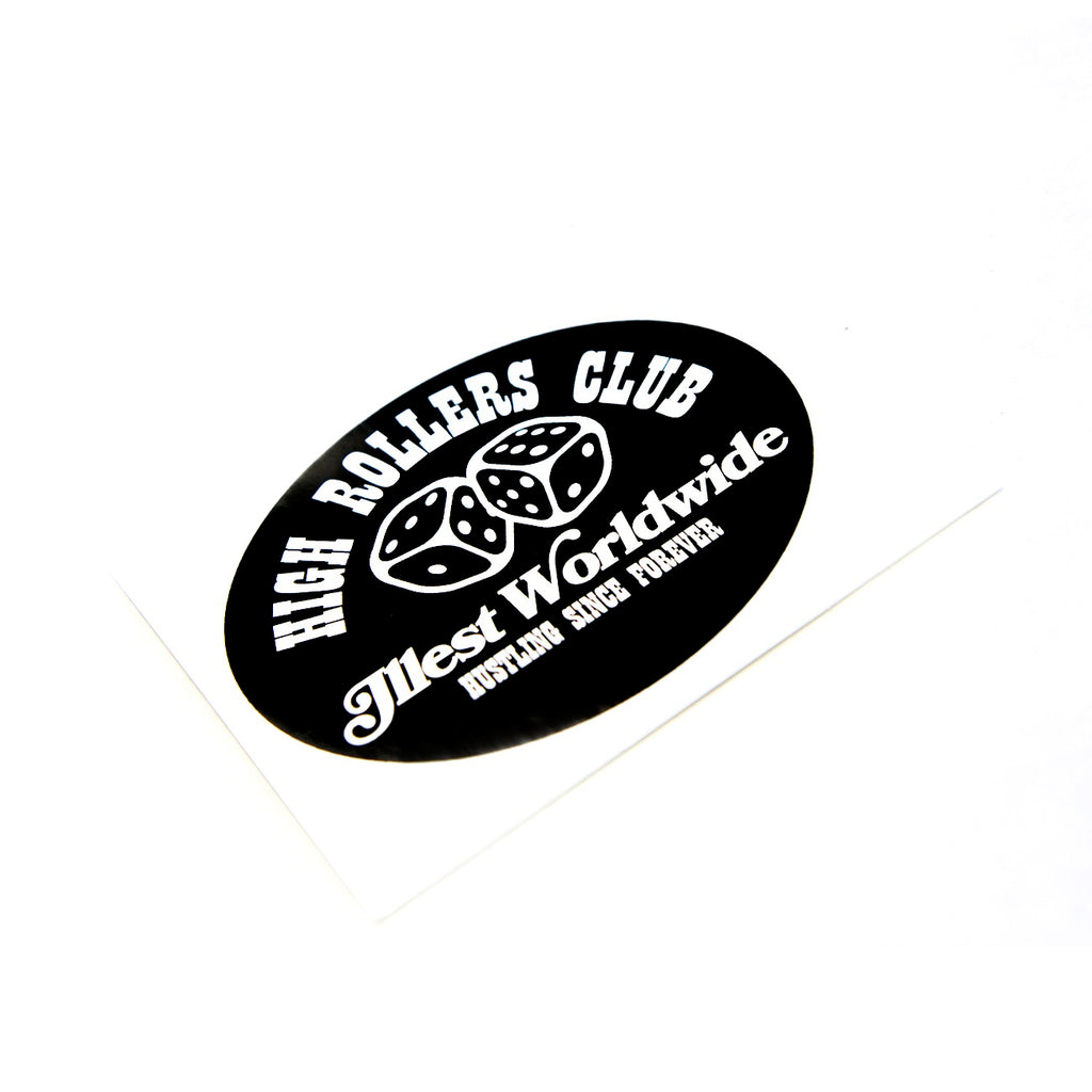 HIGH ROLLERS CLUB STICKER