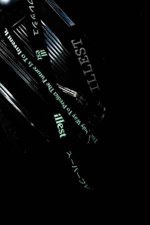 ILLEST ANNIVERSARY YEAR LANYARD - BLACK/GLOW-IN-THE-DARK