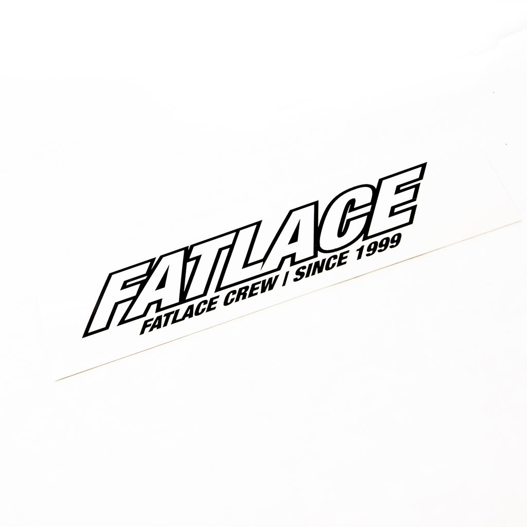 FATLACE CREW STICKER