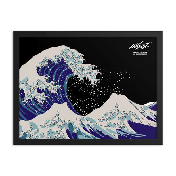 Framed poster - Wave