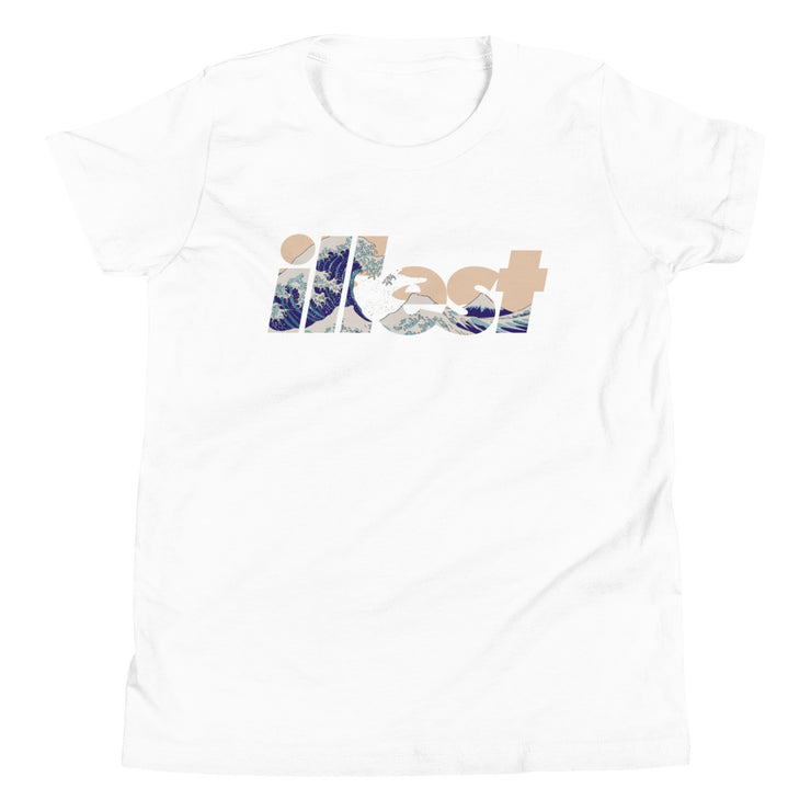 Youth Short Sleeve T-Shirt - Bold wave Logo