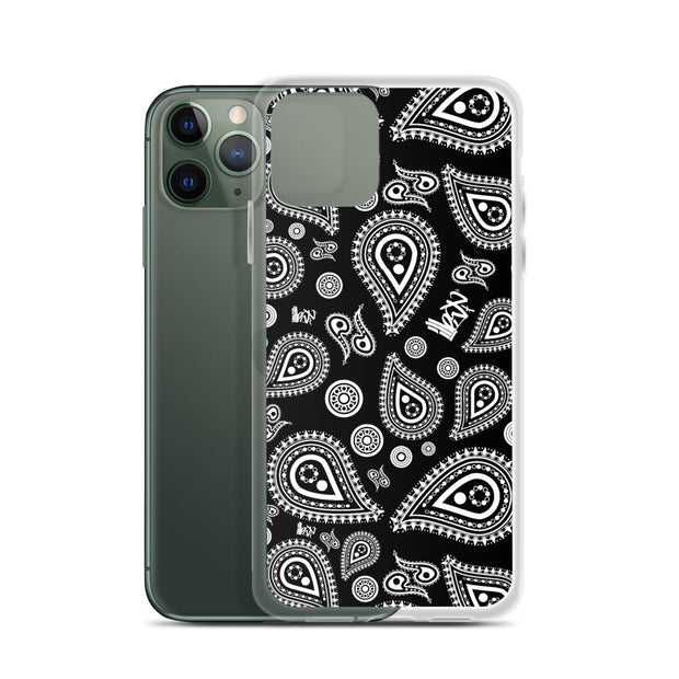 Iphone Case - Bandana Black