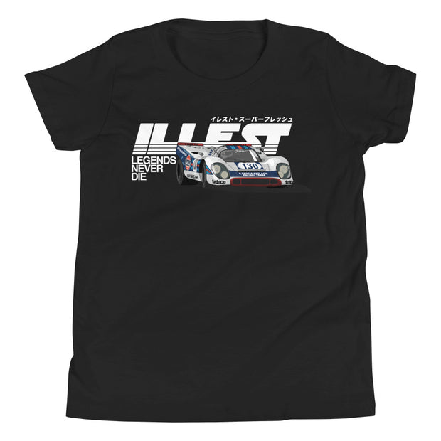 Youth Short Sleeve T-Shirt - Illest Legends White