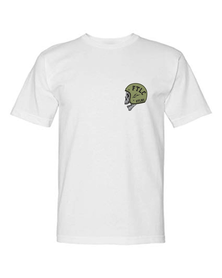 FTLC OUTLAWS TEE - WHITE