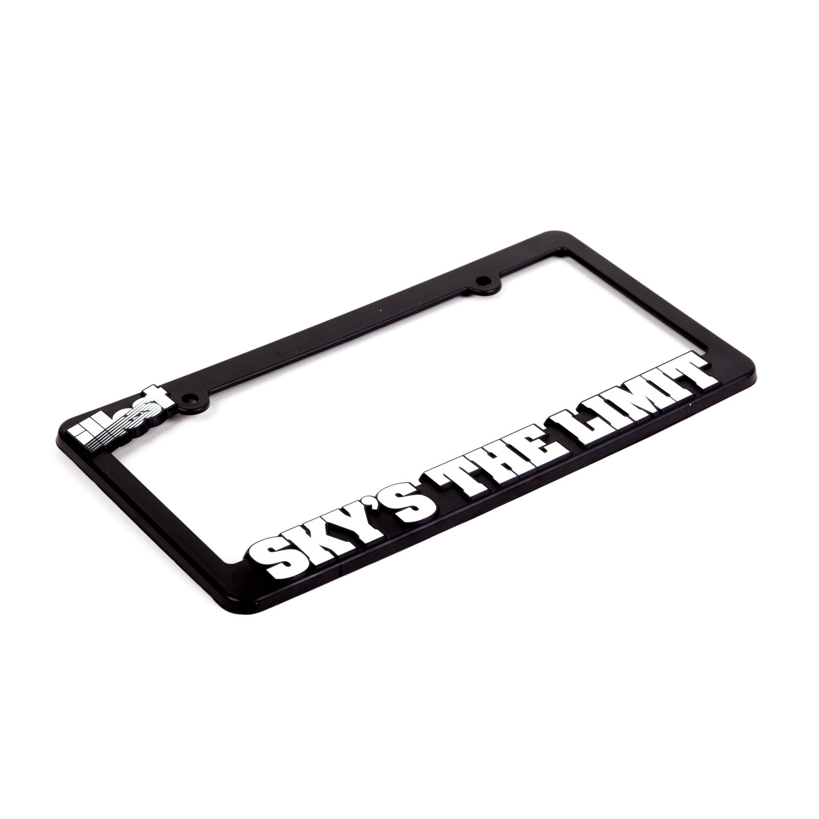 ILLEST SKY\'S THE LIMIT LICENSE PLATE FRAME – illestbrand