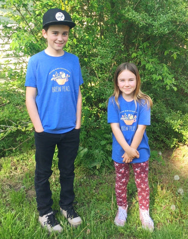 Apparel- Flying Bird Botanicals t-shirt for kiddos!