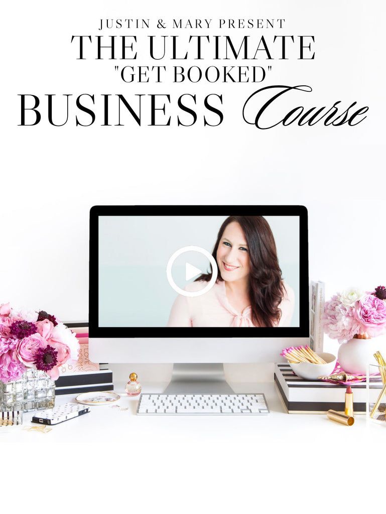 "The J&M Ultimate ""Get Booked"" Business Course"