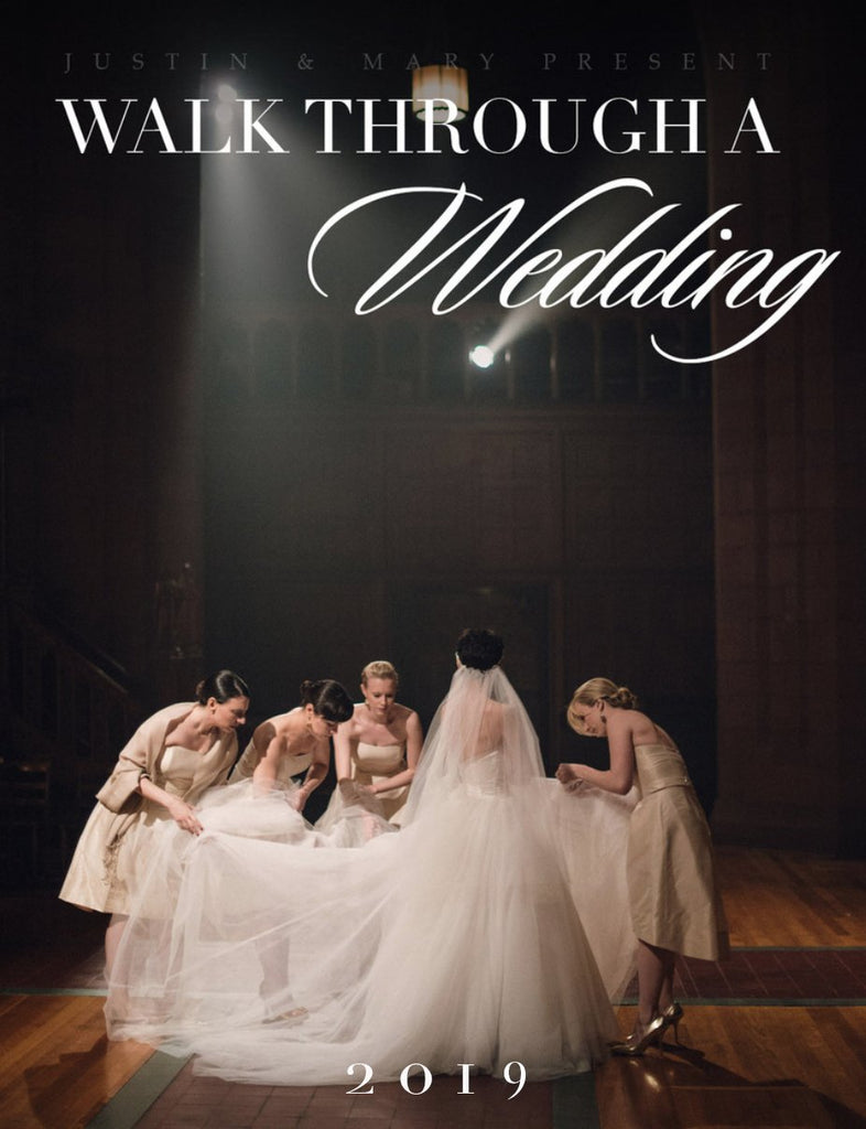 Walk Through a Wedding Workshop - New Haven, CT Feb 11-12, 2019