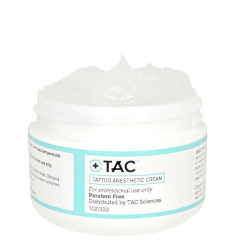 TAC ANESTHETIC CREAM-1 OZ. (ORIGINAL FORMULATION)