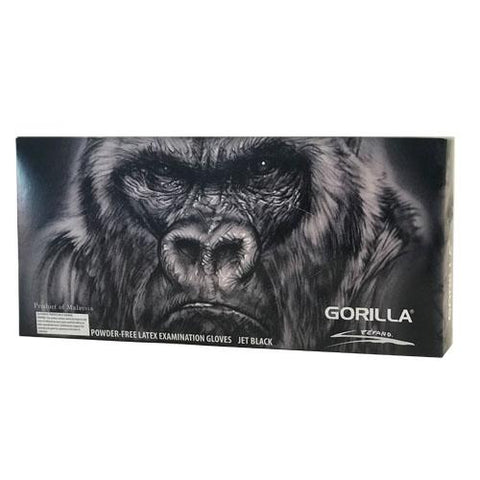 Gorilla Black Latex Glove Black