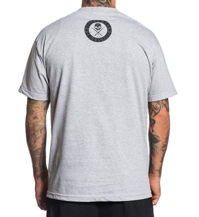 EVERYDAY BADGE TEE GREY