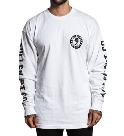 BADGE OF HONOR LONG SLEEVE WHITE