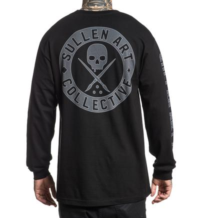 BADGE OF HONOR LONG SLEEVE BLACK