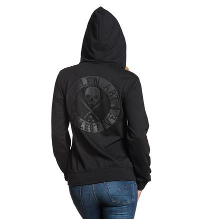SA BADGE OF HONOR ZIP HOODIE
