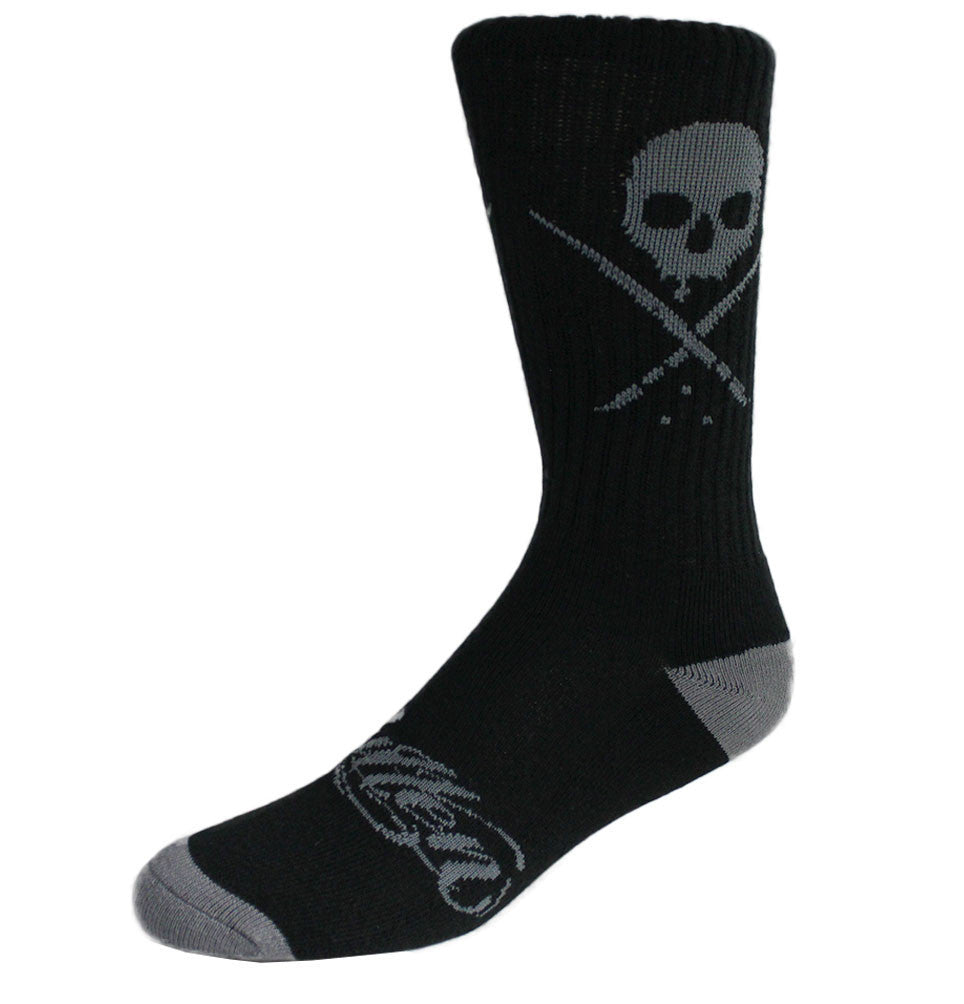 STANDARD SOCKS BLACK/GRAY